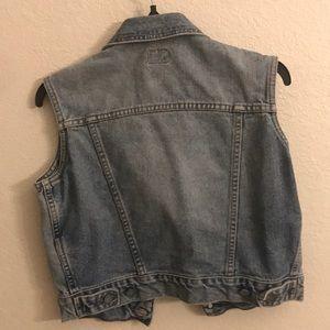 Calvin Klein Tops - Calvin Klein Jeans crop denim vest